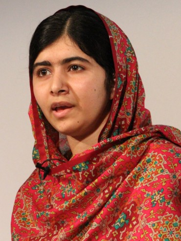 Let's not forget Malala Yousafzai