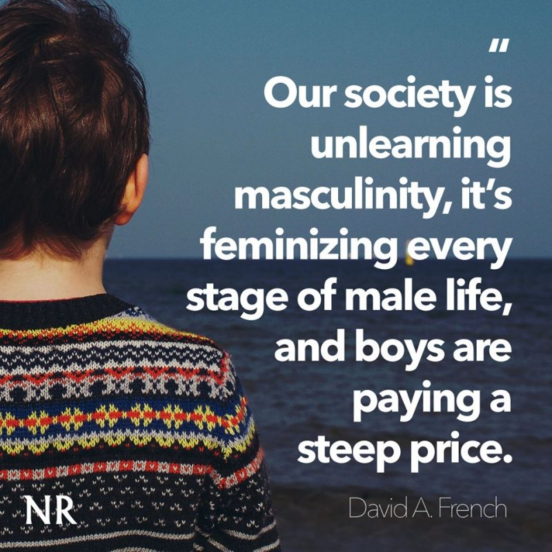 The Feminization of Everything Fails Our Boys