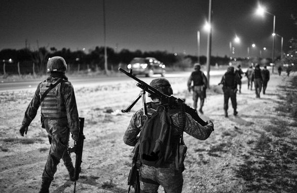 Tamaulipas the invisible war front on the border of Mexico and United States