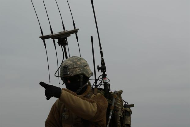 Big Red One Attacks Foes in Training with New Electronic Warfare Kit